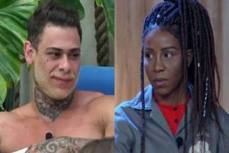 Léo Stronda e Luane Dias - Montagem/Área VIP