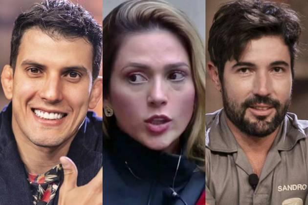 A Fazenda 10 - Felipe - Nadja - Sandro (Edu Moraes/Record TV)
