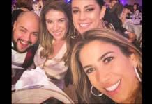 Silvia, Rebeca, Patrícia e Tiago Abravanel / Instagram