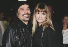 Alinne Moraes e marido
