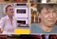 Ana Maria Braga e Felipe Suhre - Reprodução/TV Globo