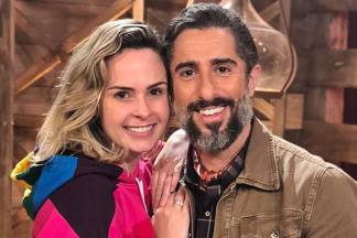 Ana Paula e Marcos Mion/Instagram
