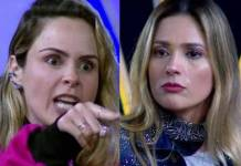Ana Paula e Nadja - Reprodução/TV Record