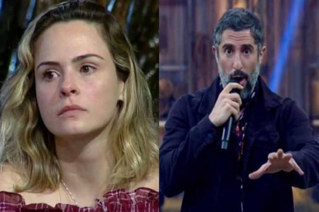 Ana Paula Renault e Marcos Mion - Reprodução/TV Record
