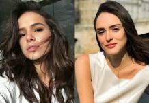 Bruna Marquezine e Isabelle Drummond/Instagram