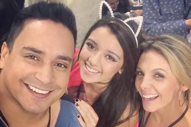 Camilly, Xanddy e Carla Perez