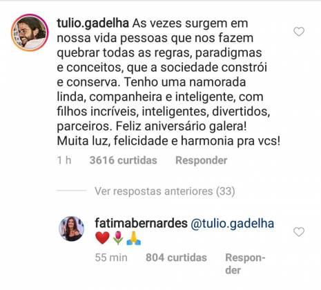 Comentário Túlio Gadelha