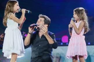 Daniel com as filhas/ Instagram