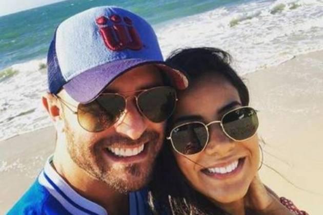 Diogo Nogueira e Jéssica Vianna - Reprodução/Instagram
