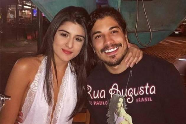 Douglas Sampaio e a nova namorada - Reprodução/Instagram
