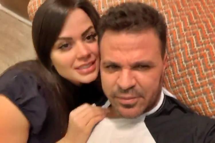Victória Villarim e Eduardo Costa - Instagram