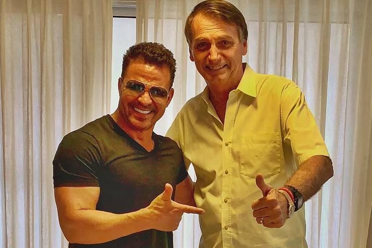 Eduardo Costa e Bolsonaro/Instagram