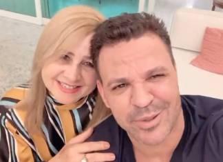 Eduardo Costa e sogra - Reprodução/Instagram