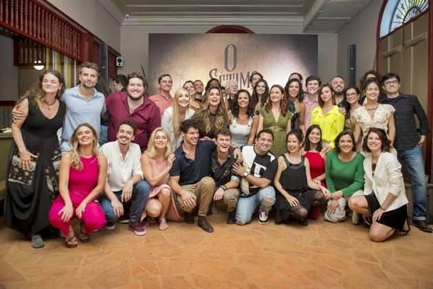 Elenco O Sétimo Guardião (Globo/João Cotta)