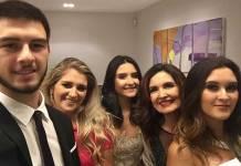 Fátima Bernardes ao lado dos filhos - Reprodução/Instagram