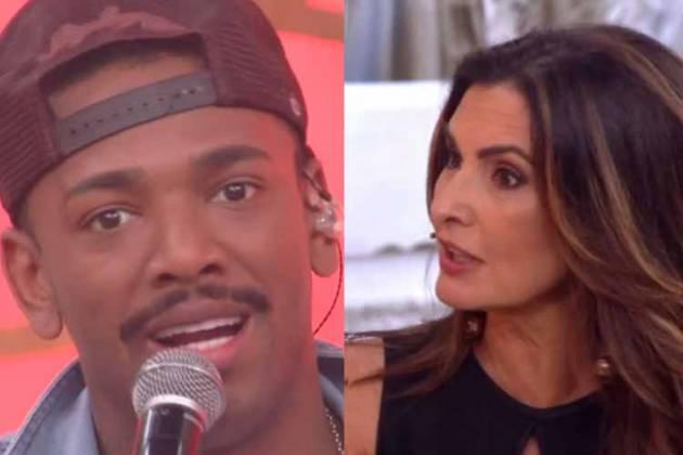 Fátima Bernardes e Nego do Borel - Reprodução/TV Globo