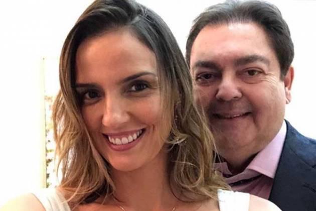 Fausto Silva e Luciana Cardoso - Reprodução/Instagram
