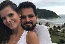 Flávia Fonseca e Luciano Camargo - Reprodução/Instagram