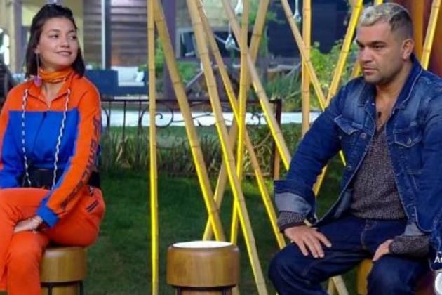 Gabi Prado e Evandro Santo - Reprodução/Record TV