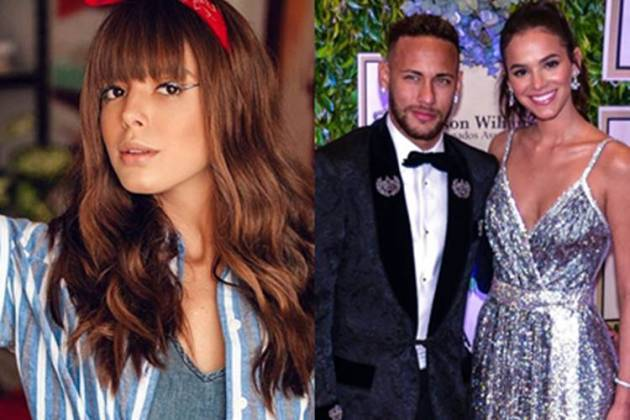 Giovanna, Neymar e Bruna