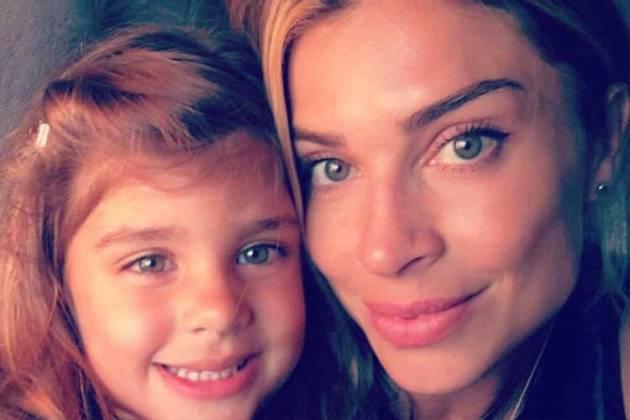 Grazi Massafera e a filha - Reprodução/Instagram