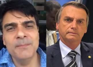 Guilherme de Pádua e Jair Bolsonaro - Reprodução/Facebook/Instagram