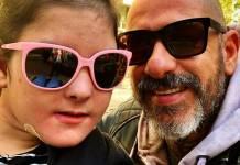 Henrique Fogaça com a filha/Instagram