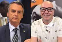 Jair Bolsonaro e Felipeh Campos - Reprodução/Instagram