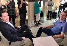 Jair Bolsonaro no Jornal da Record/Instagram