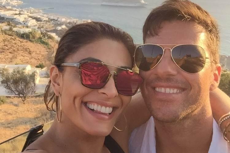 Juliana Paes celebra o aniversário do marido