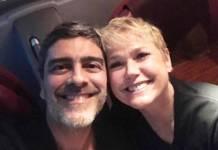 Junno Andrade e Xuxa Meneghel - Reprodução/Instagram
