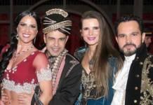 Graciele Lacerda, Zezé Di Camargo, Flavia Camargo e Luciano Camargo/Instagram