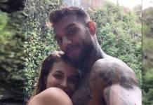 Lucas Lucco e a namorada Lorena Carvalho - Reprodução