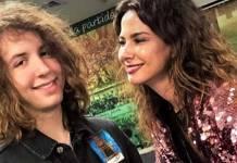 Luciana Gimenez e Lucas Jagger - Reprodução/Instagram