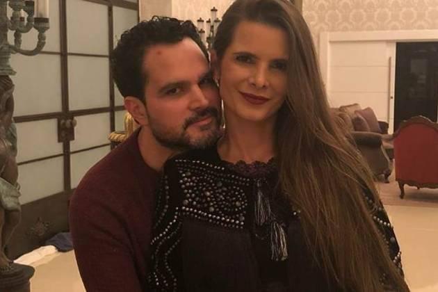 Luciano e Flávia Camargo