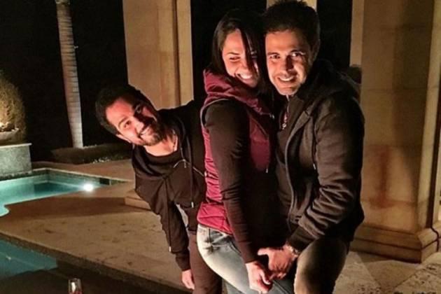 Luciano, Graciele e Zezé - Reprodução/Instagram