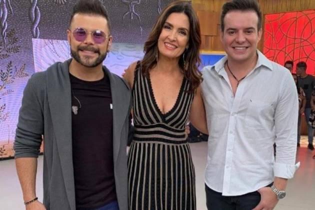 Marcos, Fátima Bernardes e Belutti - Reprodução/Instagram
