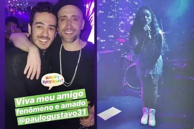 Marcos Veras - Paulo Gustavo - Iza/Instagram