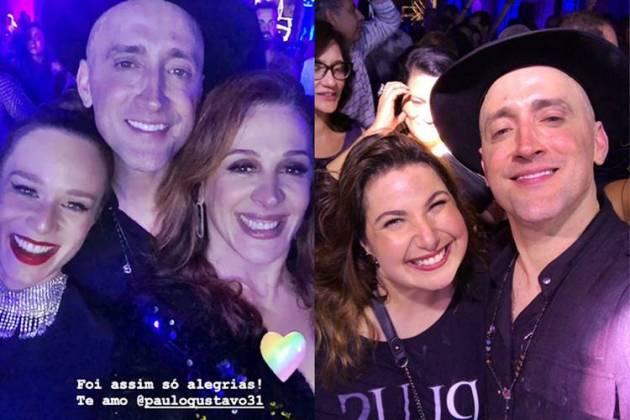 Mariana Ximenes - Paulo Gustavo - Claudia Raia - Mariana Xavier/Instagram