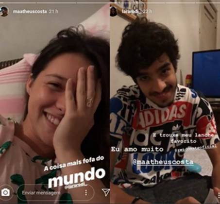 Matheus Costa e Lara Rodi