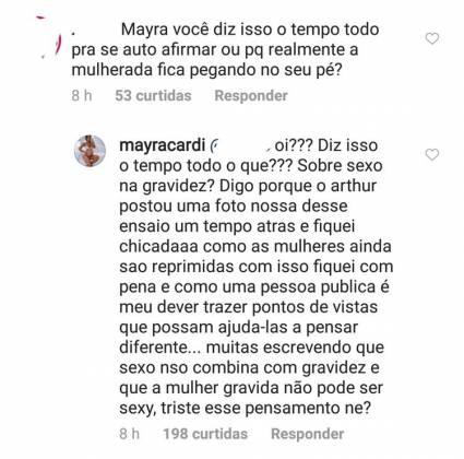 Mayra Cardi / Instagram