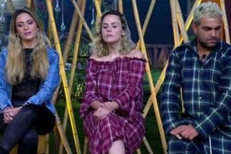 Nadja, Ana Paula e Evandro - Reprodução/Record TV