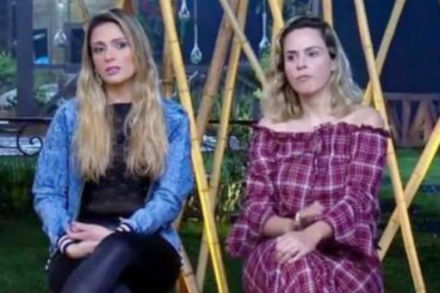 Nadja e Ana Paula - Reprodução/Record