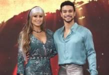 Natacha Horana e Sérgio Malheiros - Reprodução/TV Globo