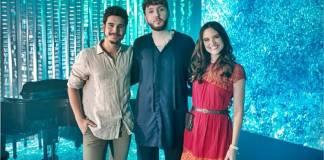 O Tempo Não Para - Samuca e Marocas com James Arthur (Globo/Isabella Pinheiro)