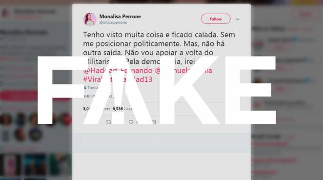 Post Monalisa Perrone