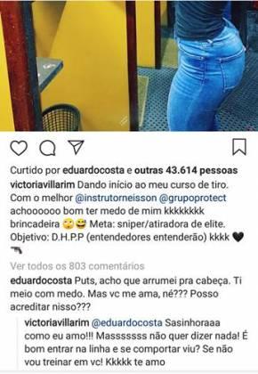 Post - Victoria Villarim/Instagram