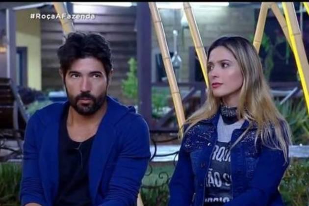 Sandro Pedroso e Nadja Pessoa - Reprodução/Record TV