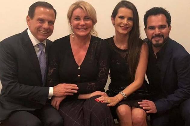 João e Bia Doria e Luciano e Flavia Camargo/Instagram