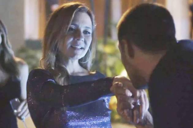 Segundo Sol - Laureta se encanta com Tomé (Reprodução/TV Globo)